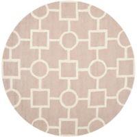Safavieh Cambridge 6-Foot x 6-Foot Mariel Wool Rug in Beige/Ivory
