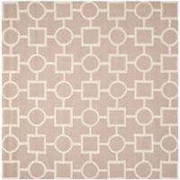 Safavieh Cambridge 8-Foot x 8-Foot Mariel Wool Rug in Beige/Ivory
