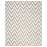 Safavieh Cambridge 7-Foot 6-Inch x 9-Foot 6-Inch Abby Wool Rug in Silver/Ivory