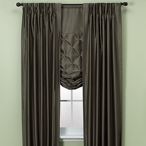 Paris Pinch Pleated Drapes And Tie Up Shades Bed Bath
