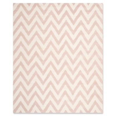 Safavieh Cambridge 9 Foot X 12 Foot Abby Wool Rug In Light Pink/