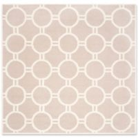 Safavieh Cambridge 8-Foot x 8-Foot Morgan Wool Rug in Beige/Ivory
