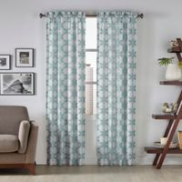 Pairs To Go™ Kesey 63-Inch Rod Pocket Window Curtain Panel Pair in Mist