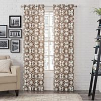 Pairs to Go™ Udall 95-Inch Rod Pocket Window Curtain Panel Pair in Cocoa