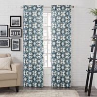Pairs to Go™ Udall 95-Inch Rod Pocket Window Curtain Panel Pair in Blue