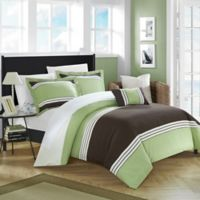 Chic Home Samara King Duvet Cover Set in Green