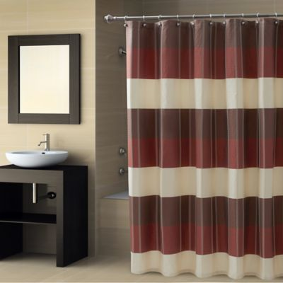 CroscillR Fairfax Stall Shower Curtain In Spice