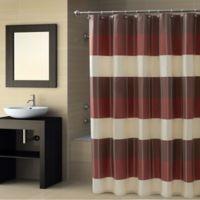 CroscillR Fairfax Stall Shower Curtain In Spice