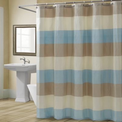 CroscillR Fairfax Shower Curtain In Spa