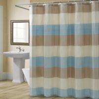 Croscill® Fairfax 72-Inch x 84-Inch Shower Curtain in Spa