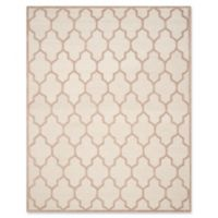 Safavieh Cambridge 8-Foot x 10-Foot Tara Wool Rug in Ivory/Beige
