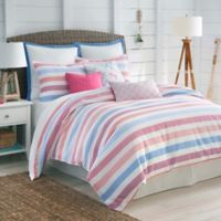 Southern Tide® Long Bay Stripe Full Comforter Set in Pink