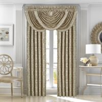 J. Queen New York™ Mirabella Rod Pocket Window Curtain Panel Pair in Beige