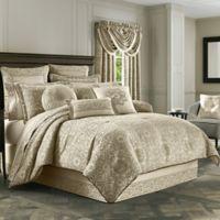 J. Queen New York™ Mirabella Queen Comforter Set in Beige