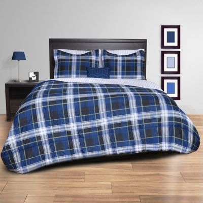 target set hei about blue wid p fmt a rugged comforter item plaid this
