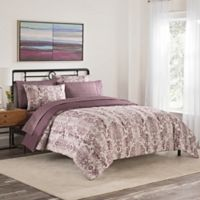 Simmons® Emerson King Comforter Set in Berry