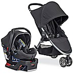 Britax B-Agile/B-Safe 35 Elite Travel System Stroller in Domino