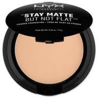 NYX Professional Makeup Stay Matte But Not Flat™ .26 oz. Powder Foundation in Medium Beige