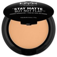 NYX Professional Makeup Stay Matte But Not Flat™ .26 oz. Powder Foundation in Soft Beige