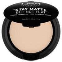 NYX Professional Makeup Stay Matte But Not Flat™ .26 oz. Powder Foundation in Nude