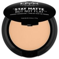 NYX Professional Makeup Stay Matte But Not Flat™ .26 oz. Powder Foundation in Warm Beige
