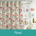 Shop Floral Shower Curtains