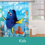 Shop Kids Shower Curtains