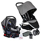 Britax B-Agile/B-Safe 35 XE Travel System Stroller in Steel