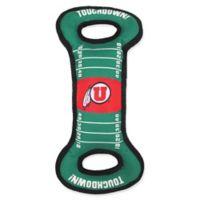 University of Utah Pet Football Field Tug Toy