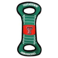 Texas Tech Pet Football Field Tug Toy