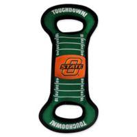 Oklahoma State University Pet Football Field Tug Toy