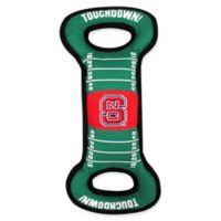 North Carolina State University Pet Football Field Tug Toy