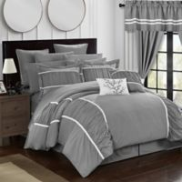 Chic Home 24-Piece King Comforter Set in Grey