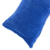 Nottingham Home Sherpa Body Pillow Cover in Blue