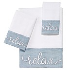 Avanti Relax Fingertip Towel in White