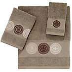 Avanti Emblem Hand Towel in Latte