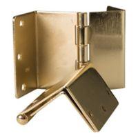 HealthSmart Expandable Door Hinges in Brass (Set of 2)