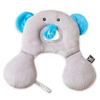 BenBat Travel Friends Elephant Infant Head/ Neck Support Pillow in Grey