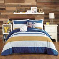 Urban Playground TJ 5-Piece Full/Queen Comforter Set in Blue