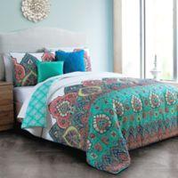 Avondale Manor Livia 5-Piece King Comforter Set in Jade