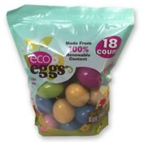 eco eggs® 18 ct. Stand Up Bag Plant Based Easter Eggs
