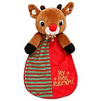 """My First Rudolph"" Snuggle Blanket and Toy"