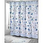Avanti Island View 72-Inch x 72-Inch Shower Curtain