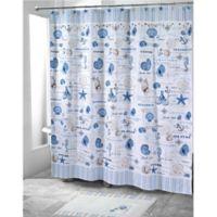 Avanti Island View 72-Inch x 72-Inch Shower Curtain