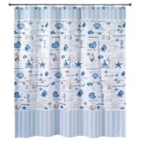 Avanti Island View 72-Inch x 84-Inch Shower Curtain