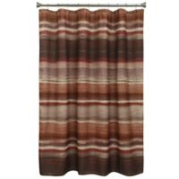 Bacova Sheridan Shower Curtain In Burgundy