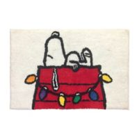 Peanuts Holiday Bath Rug