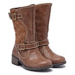 Rachael Shoes Size 7 Quilted Tall Riding Boot in Brown