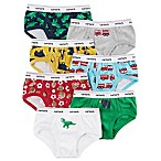 carter's® Size 2T/3T 7-Pack Animals and Vehicles Cotton Briefs in Yellow/Grey/Blue