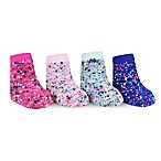 Waddle Size 0-12M 4-Pack Confetti Socks